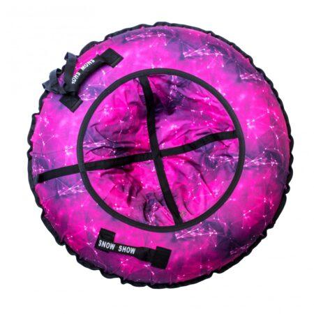"""Тюбинг """"Галктика Пинк"""", 120 см, розовый"""